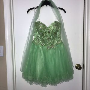 Green Homecoming or Prom Dress